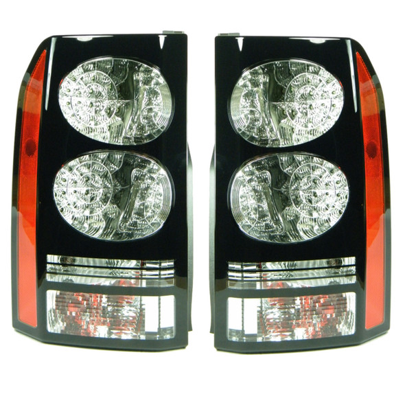 JGS4x4 | Land Rover Discovery 4 L319 BLACK Rear LED Tail Lights Pair -