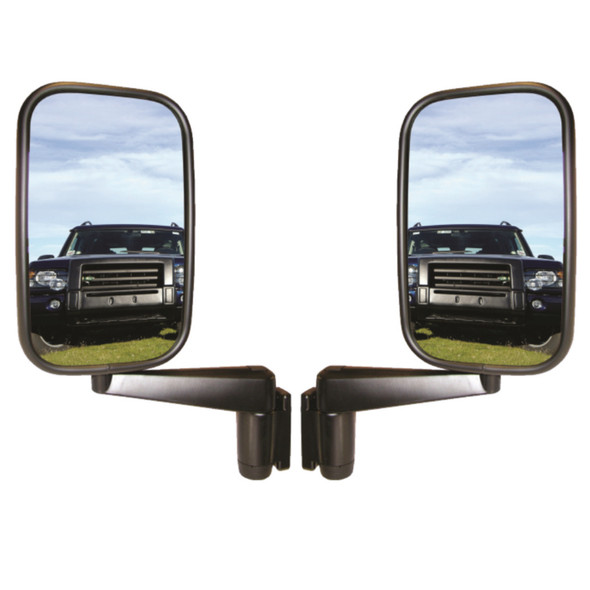 JGS4x4 | Land Rover Defender Wing Mirror Head Complete With Mirror Arms Pair - MTC5217