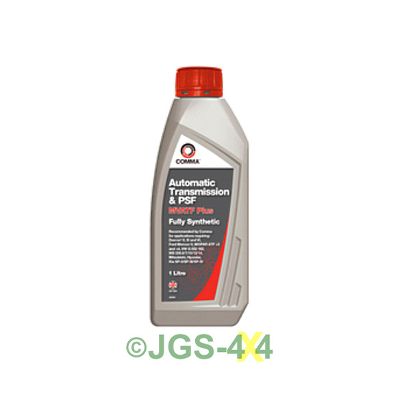 COMMA Automatic Transmission & PSF Fully Synthetic Dexron 6 Fluid 1L - MVATF1L