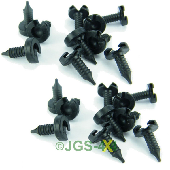 Land Rover Discovery 2 Interior Door Card Trim Fixing Stud x20 - MWC9134
