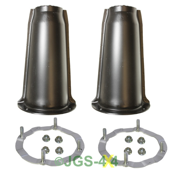 Land Rover Defender & Discovery 1 Front Shock Absorber Turrets & Securing Rings