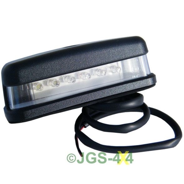 Land Rover Defender LED Number Plate Lamp Light - XFC100550LED