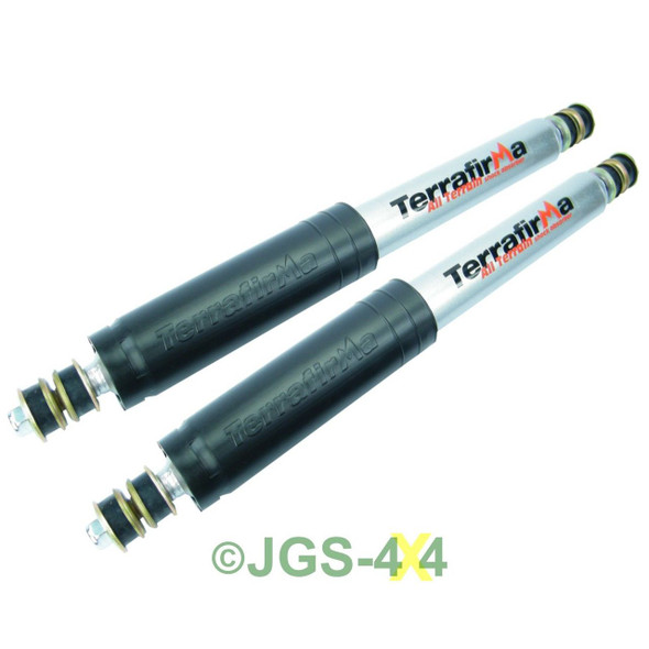 Land Rover Discovery 1 Shock Absorber Set Front TERRAFIRMA ALL TERRAIN - TF116