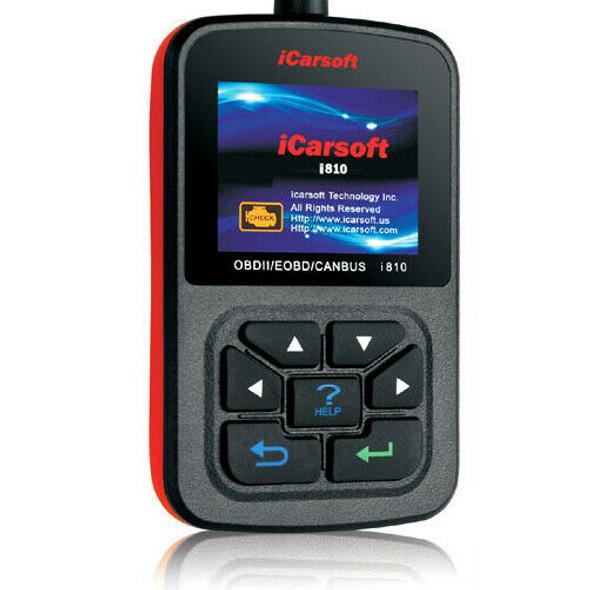 Multi Vehicle OBD2 Diagnostic Fault Code Reader Scanner Tool iCARSOFT i810