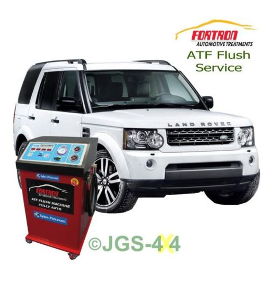 Land Rover Discovery 4 Auto Gear Box ATF Fortron Automatic Gearbox Mega Flush