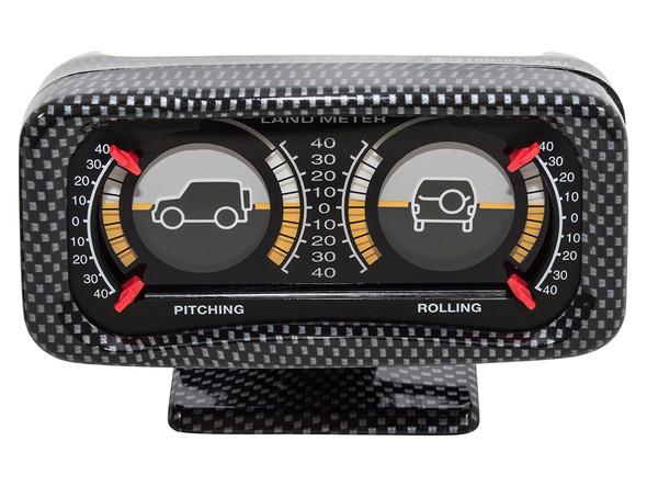 JGS4x4 | Land Rover Off Road 4x4 Inclinometer Land Gauge Carbon Fibre - DA1004