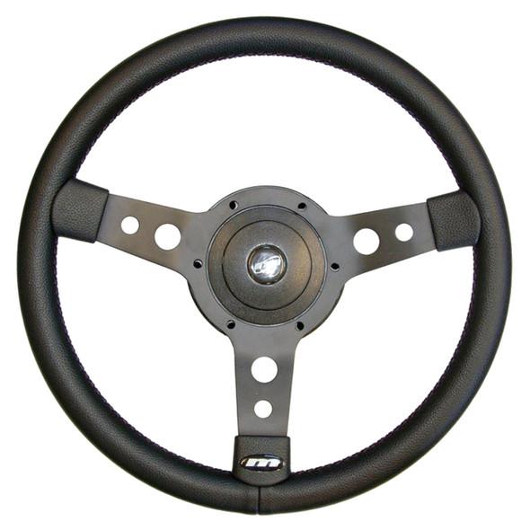 "Defender & Series 2/2A/3 14"" 3-Spoke Sports Steering Wheel - DA4654"