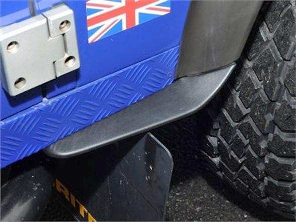 Defender Rear of Front Wheel Dirt D-Fender Pair - DA1193