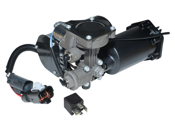 JGS4x4 | Land Rover Discovery 3 L319 Air Suspension Compressor Genuine Hitachi - LR023964