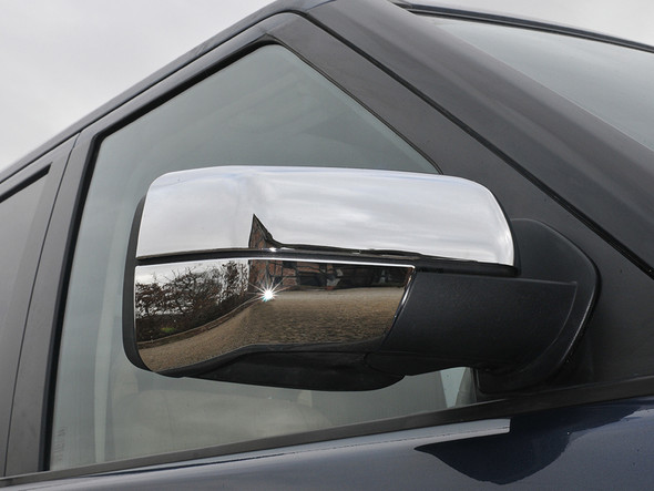 JGS4x4   Land Rover Freelander 2 Chrome Wing Mirror Bottom Covers - LR003905