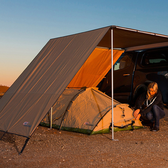 Expedition Awning Front Wind Break ARB - DA6829