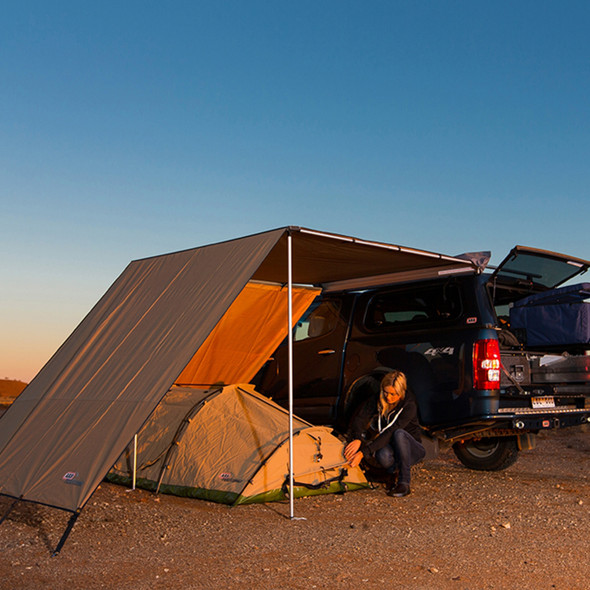 Expedition Awning Front Wind Break ARB - DA6840