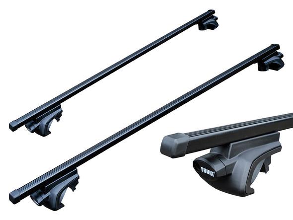 JGS4x4   Land Rover Freelander 2 Thule Roof Bars For Roof Rails - DA4327