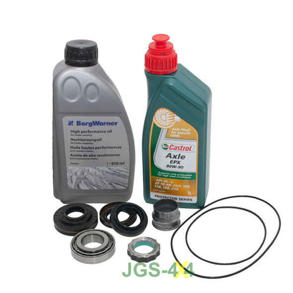 JGS4x4 | Land Rover Freelander 2 Rear Differential Pinion Bearing Rebuild Kit With Oils - DA7211