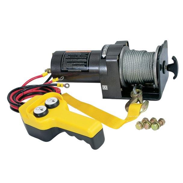 12V Pulling Power Electric ATV Winch 2,000lbs - DB2000