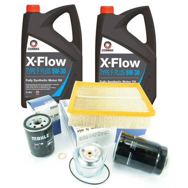 JGS4x4   Land Rover Discovery 2 Td5 Engine Service Kit MAHLE OEM Filters With , 5W30 Oil -