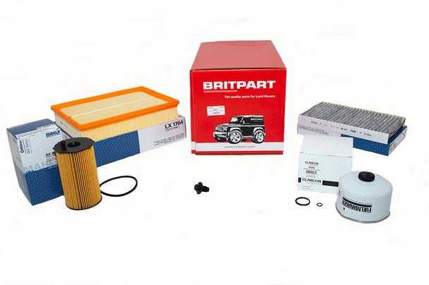 Land Rover Discovery 4 L319 2.7 V6 diesel OEM Premium Engine Service Filter Kit - DA6041P-1