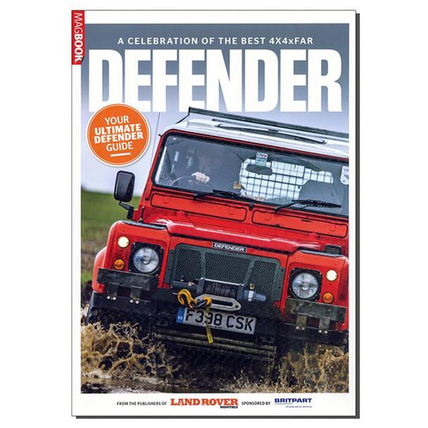 Defender A Celebration Of The Best 4x4 Far Defender Mag Book 2nd Edition - DA3188B