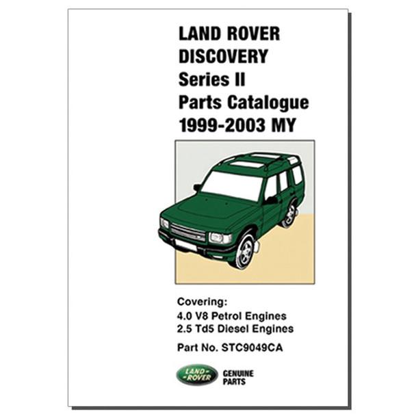 Discovery 2 Parts Catalogue Brooklands - STC9049CA