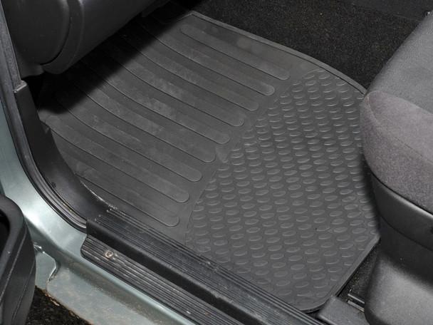 Land Rover Freelander 1 L314 Rubber Floor Mat Set Black RHD - DA4428
