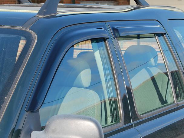 JGS4x4 | Land Rover Freelander 1 Window Wind Deflector Set - DA6077