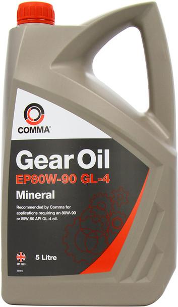 JGS4x4   COMMA EP80/90 Gear Oil Gearbox Axle Differential Oil 5L - GO45L