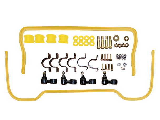 JGS4x4 | Land Rover Discovery 1 Anti Roll Bar Handling Kit Yellow - STC8156AAPY