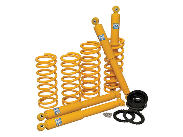 JGS4x4 | Land Rover Discovery 2 L318 Coil Spring Suspension Lift Kit Plus 50mm Heavy Duty - DA5007