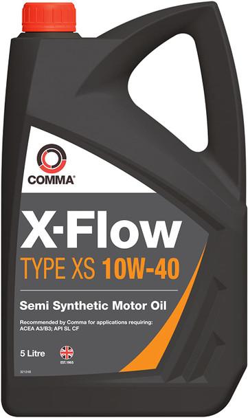 JGS4x4   Comma X-Flow Type FXS 10W40 Semi Synthetic Engine Oil 5Ltr - XFXS5L