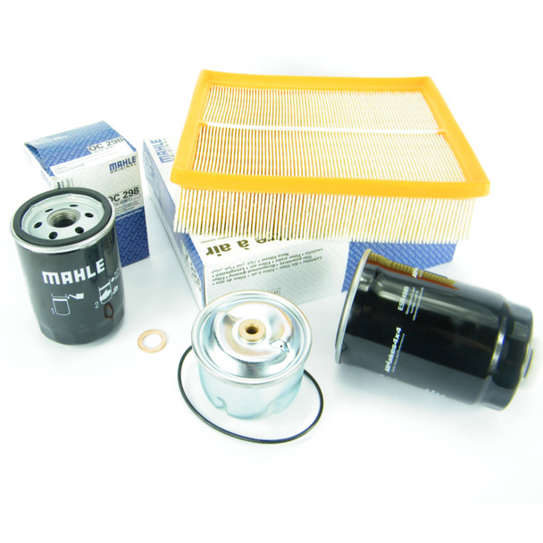 JGS4x4 | Land Rover Discovery 2 Td5 Engine Service Kit Oil & Air Filters MAHLE OEM -