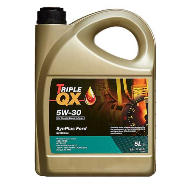JGS4x4   Land Rover TRIPLE QX 5w30 Fully Synthetic ACEA A1/B1 Engine Oil 5 Litre -