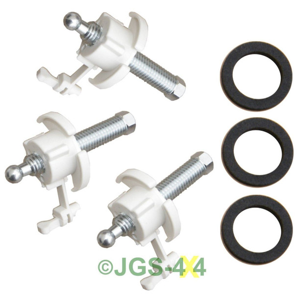 Land Rover Discovery Headlamp Adjuster Kit - STC1232