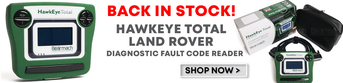 Bearmach Hawkeye Total Land Rover Diagnostic Fault Code Tool