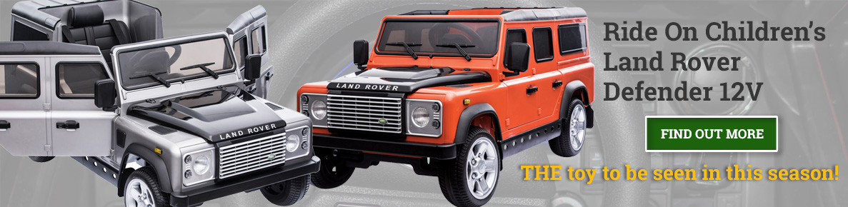 Ride On Defender Toy Cars