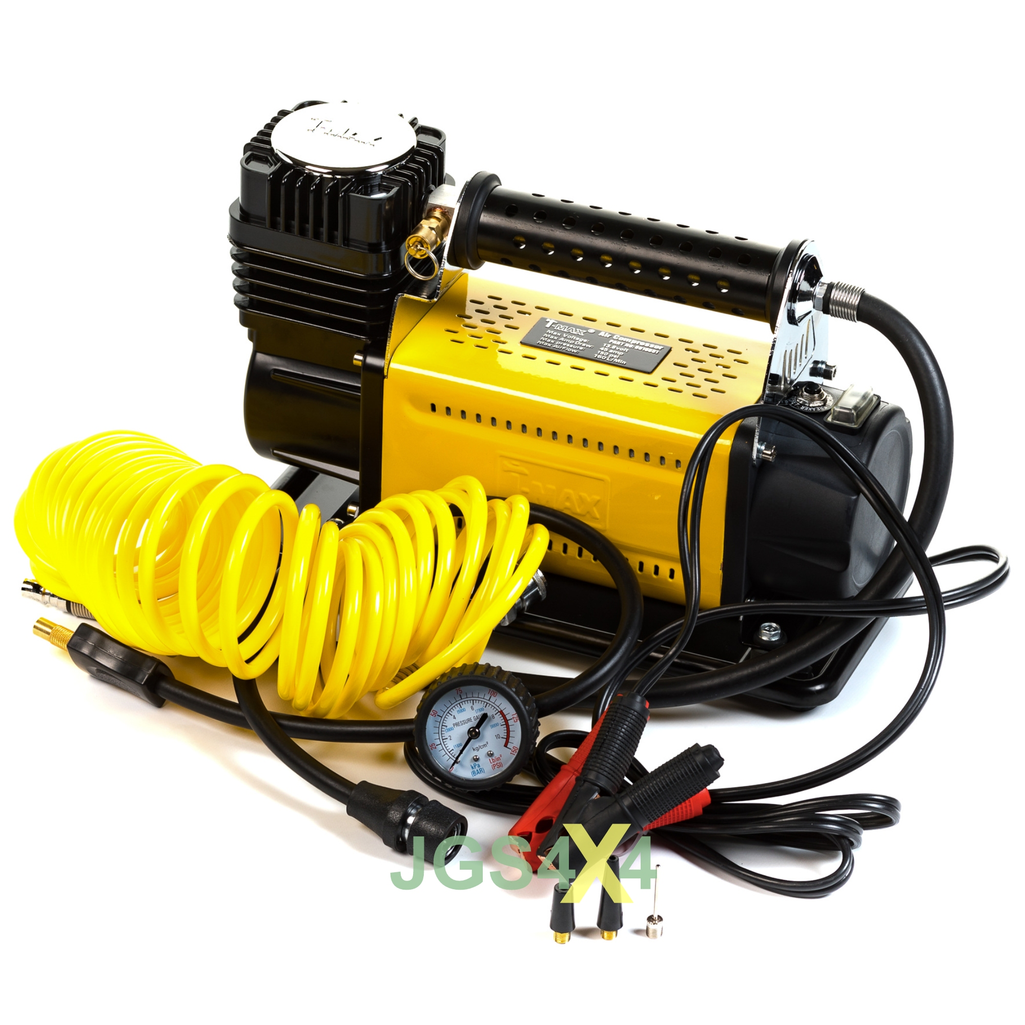 T-Max 12v Heavy Duty portable tyre compressor