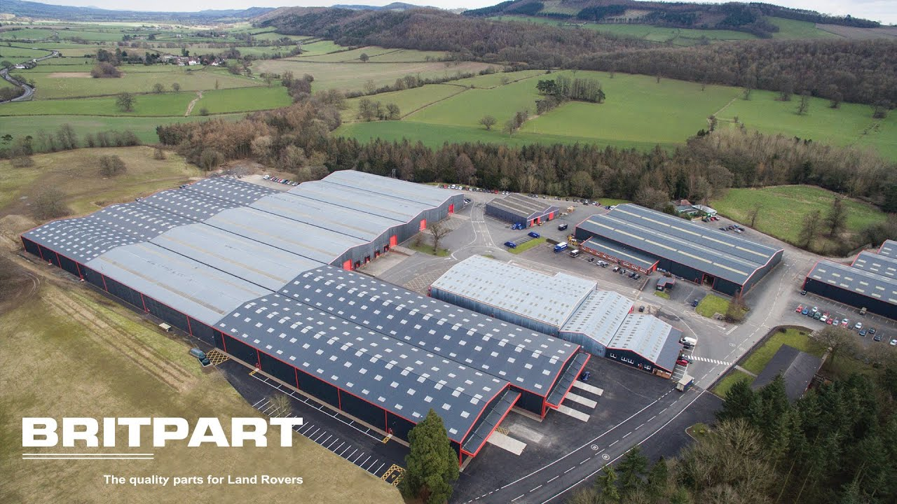 Britpart supplies 1000's of Land Rover parts from their UK base.