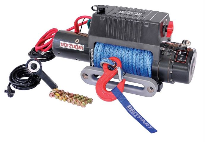 Britpart Pulling Power DB12000i Recovery Winch