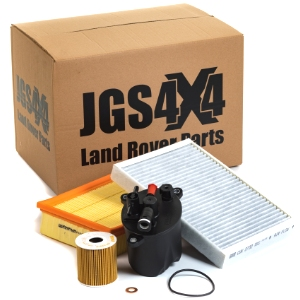 JGS4x4 | Land Rover service filter kits.
