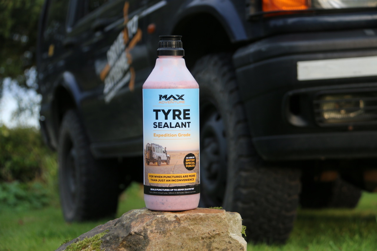 MAX Adventure tyre sealant, don't let punctures be more than just an inconvenience