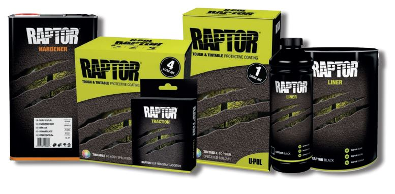 Raptor ultra tough bed liner paint from JGS4x4