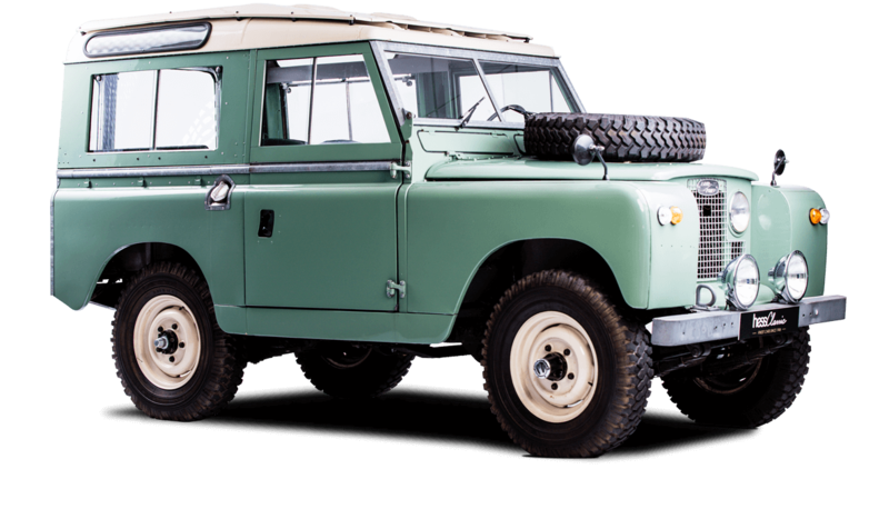 Land Rover Series parts and accessories from JGS4x4