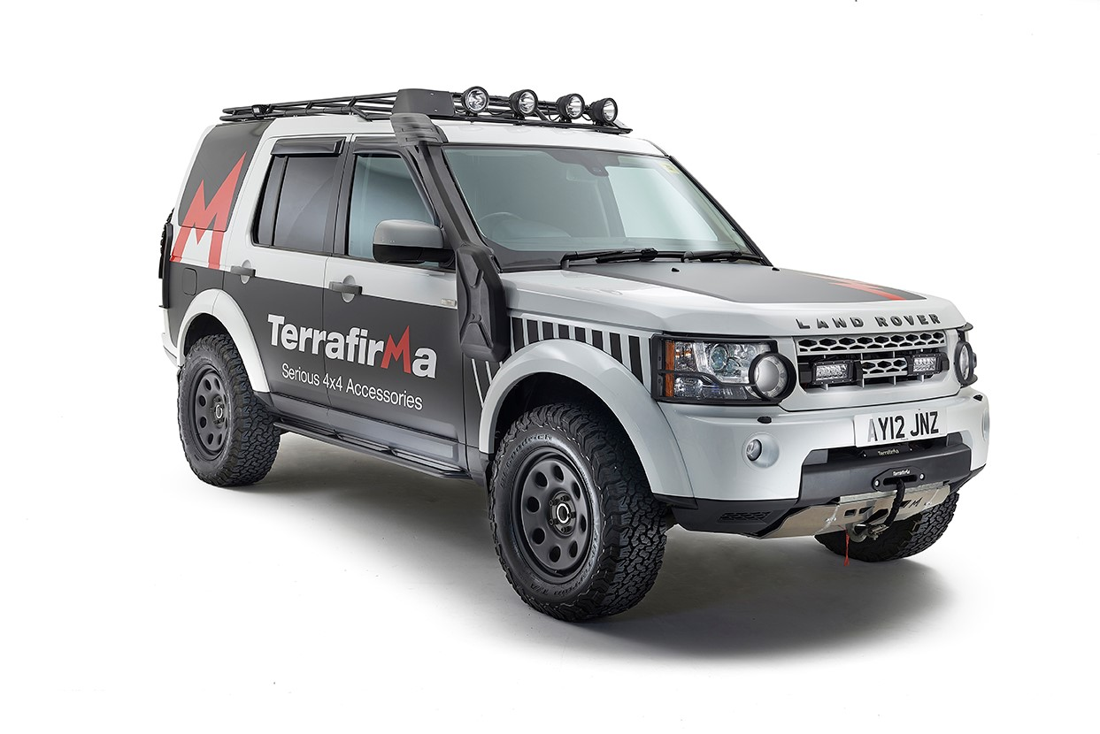 Terrafirma 4x4 Accessories. Serious Land Rover parts, accessories, performance upgrades and enhancements.