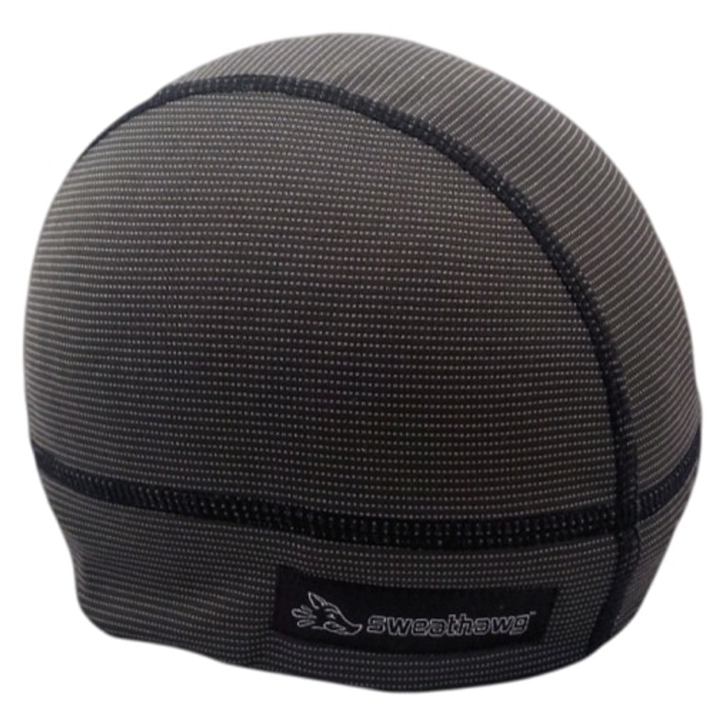 Ultra absorbent Skull Cap in Charcoal black (not quite black)