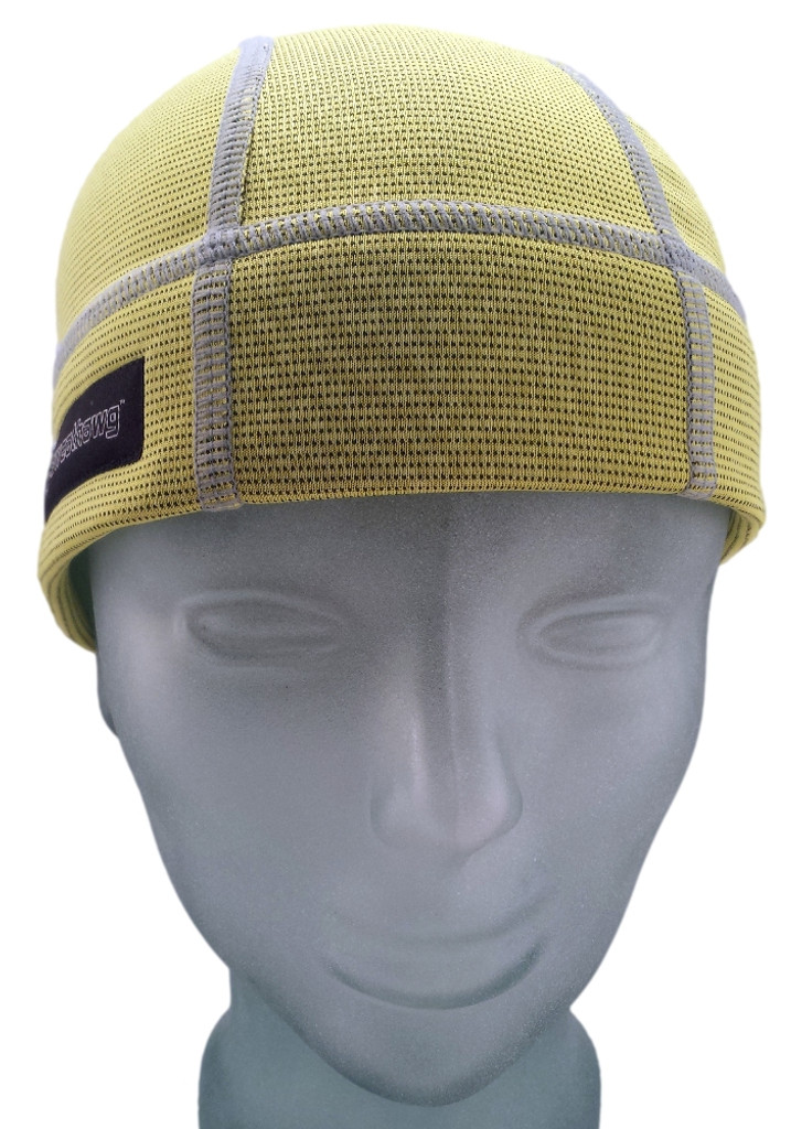 Lemon Yellow SweatHawg Skull Cap