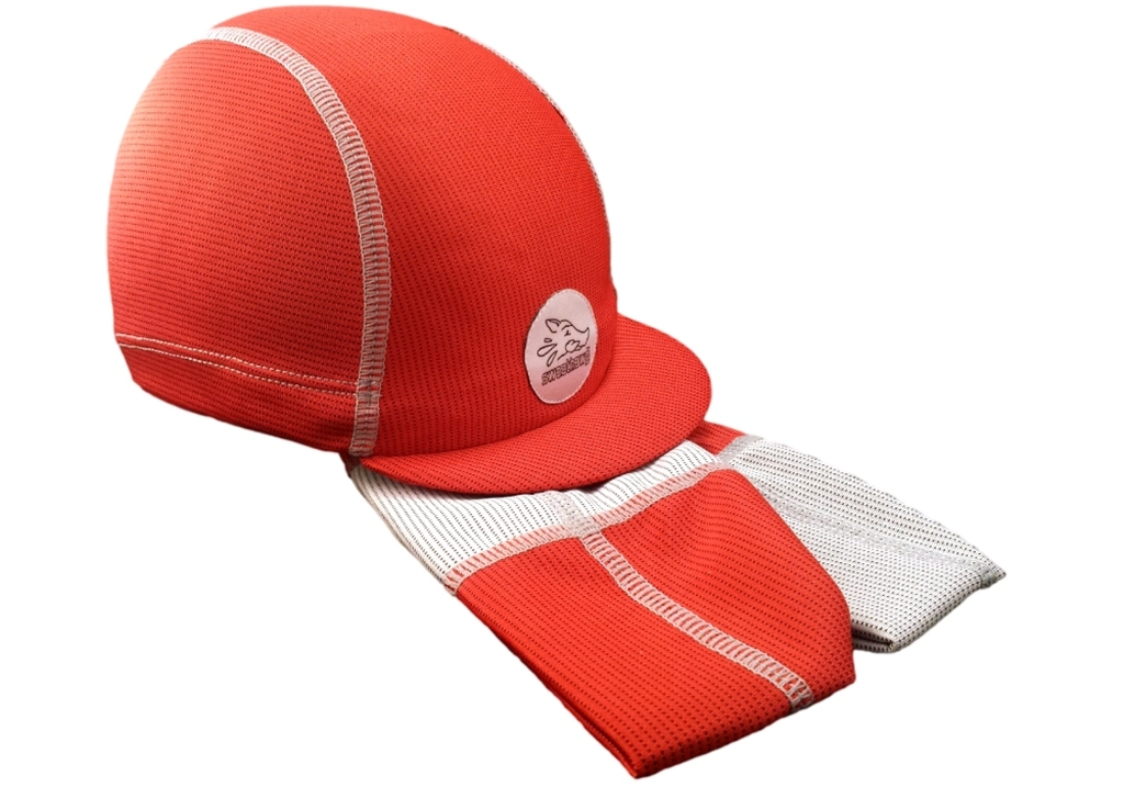 Cycling Cap with ultra-absorbent brow for stopping dripping sweat