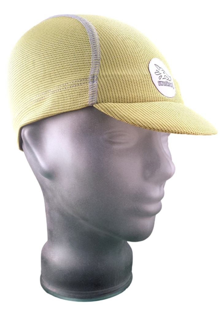 Cycling Cap - Lemon Yellow