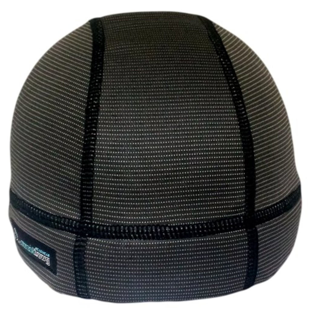 SweatHawg's Ultra absorbent Skull Cap X2 in Charcoal (not quite black)