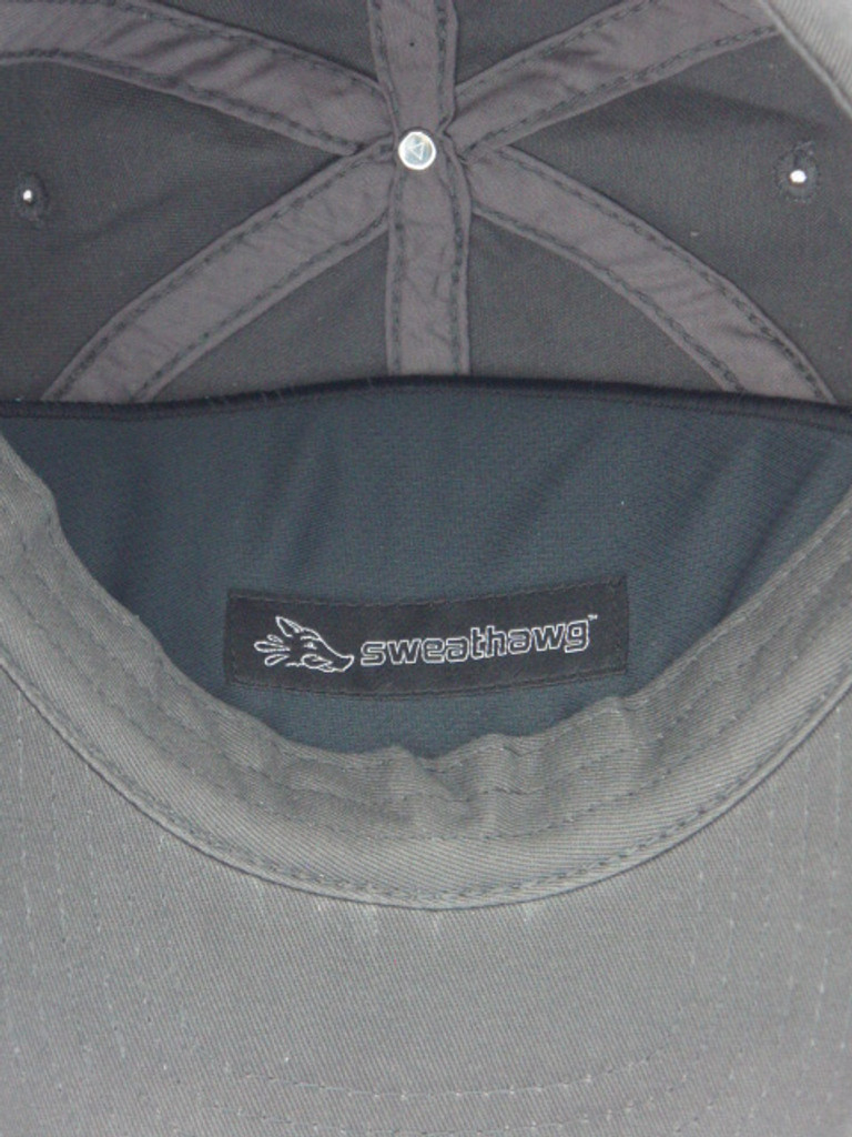 Cap Insert X2 in ball cap behind sweat band