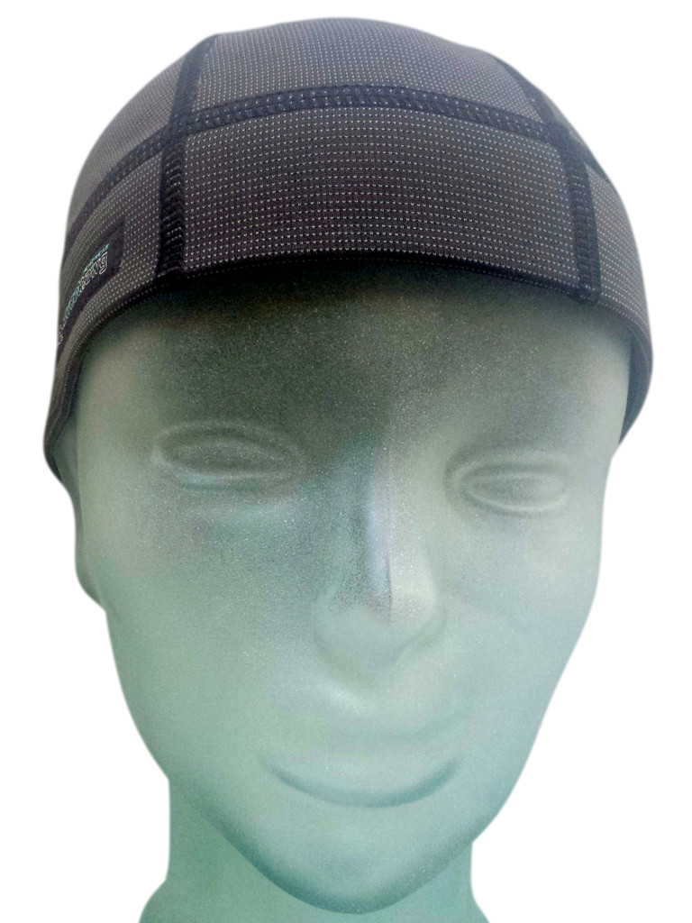 Skull Cap Shorty has a double layer of absorbencyto keep sweat out of your eyes.