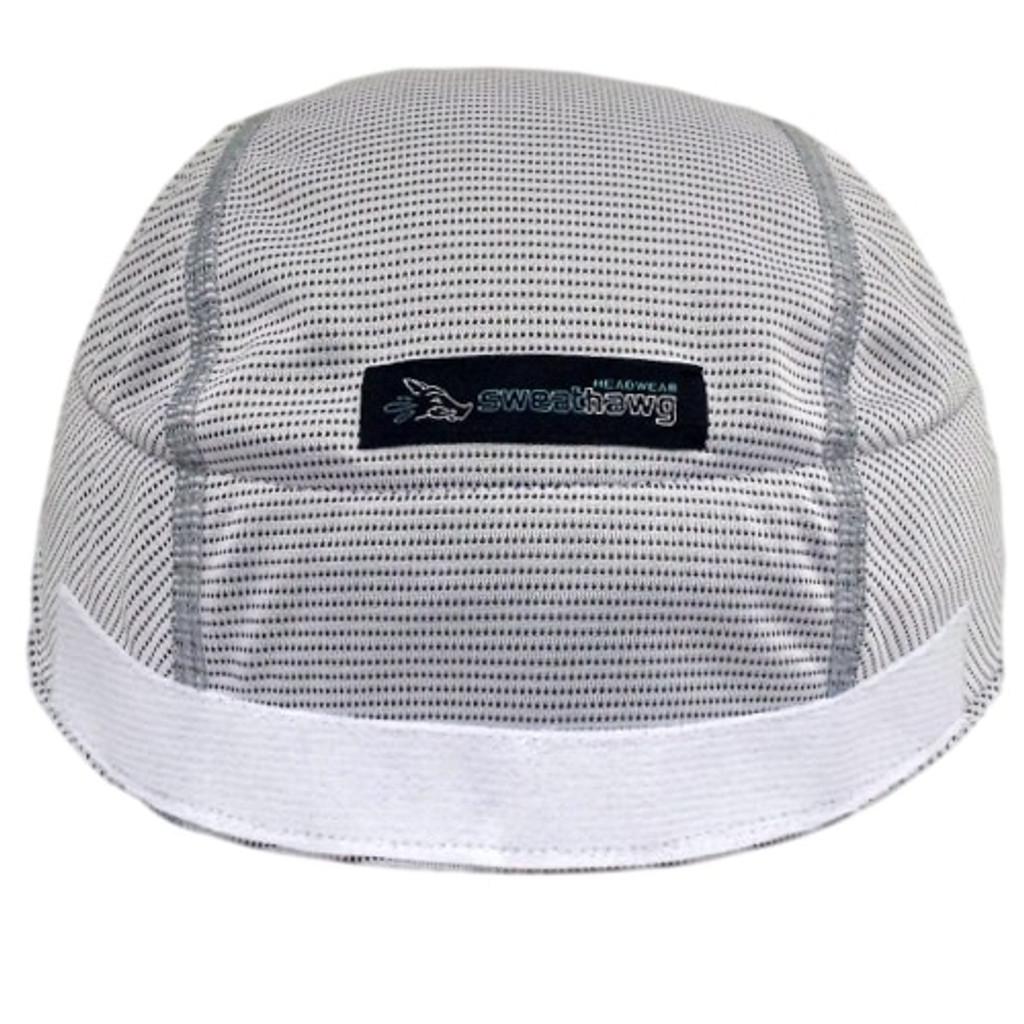Super absorbent Helmet Liner - hook and loop in white